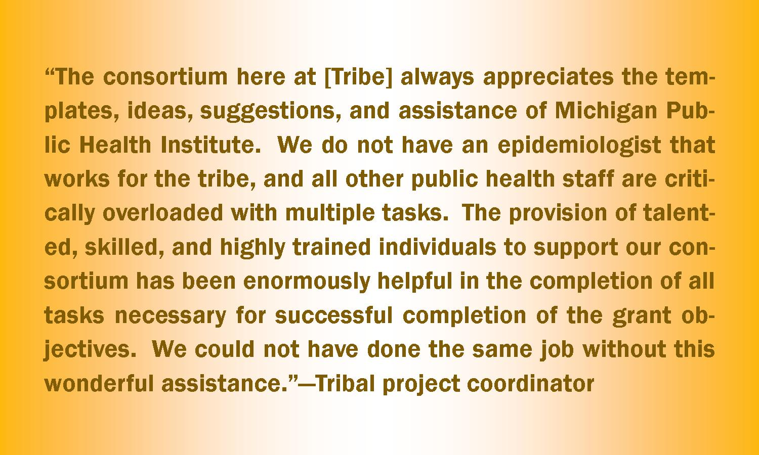 Tribal Health Slideshow - Quote 2