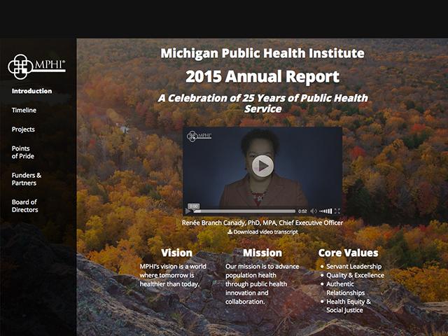 2015 MPHI Annual Report