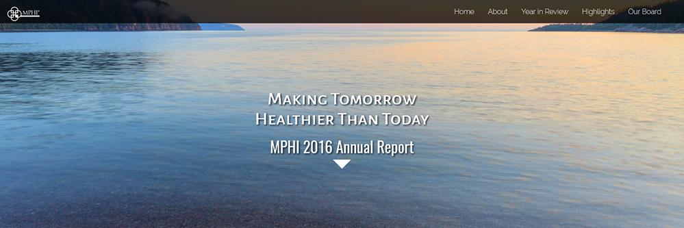 2016 MPHI Annual Report