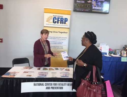 Abby Collier and Rosemary Fournier, from the Center for National Prevention Initiatives (CNPI), Present at the CityMatCH Conference