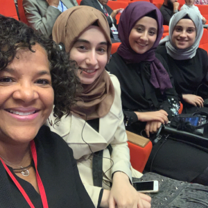 MPHI's Renée Canady and May Yassine attended the Global Refugee & Migration Congress in Gaziantep, Turkey