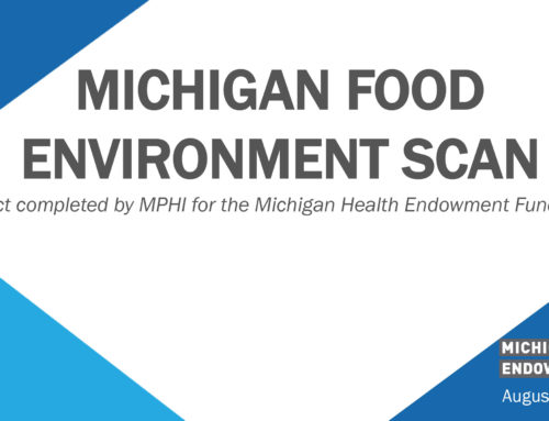 Michigan Health Endowment Fund Publishes The Michigan Food Environment Scan Report Written by MPHI Staff