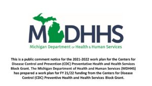 Notice of Public Health Hearing <br>June 7, 2021 from 10:00am - 11:00am EST