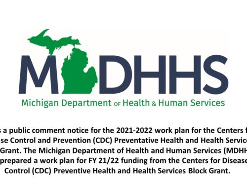 Notice of Public Health Hearing June 7, 2021 from 10:00am – 11:00am EST